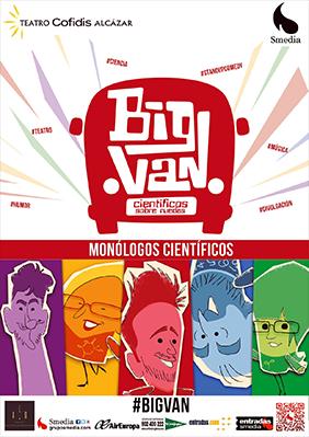 Big Van Monólogos Científicos → Teatro Cofidis Alcázar