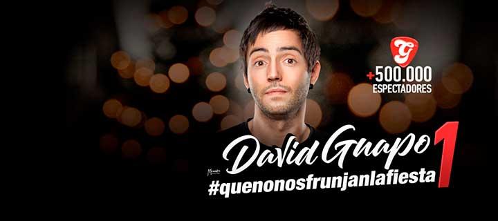 David Guapo: #QUENONOSFRUNJANLAFIESTA