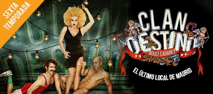 Finalizada: BLACK FRIDAY 2020: 25% de descuento para 'Clandestino Cabaret' en el Gran Teatro Bankia Príncipe Pío