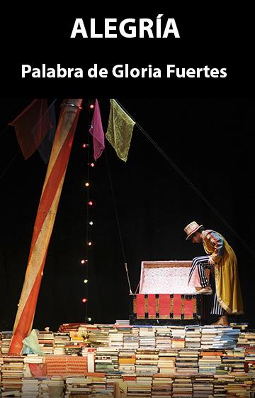 Media (2147) - Alegría: Palabra de Gloria Fuertes - Teatro Madrid