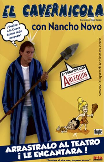El cavernícola → Teatro Arlequín
