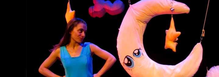Teatro para bebés por 7€: 'Estrellas y a soñar' en los Teatros Luchana
