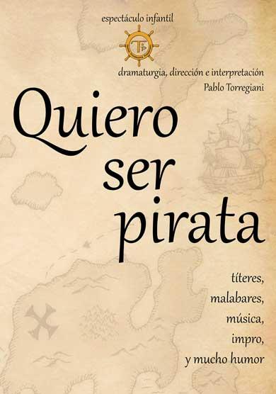 Quiero ser pirata → Teatro de la Puerta estrecha