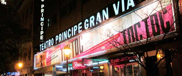 Teatro pr ncipe gran v a informaci n y entradas teatro Teatro principe gran via