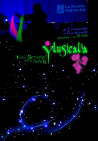 Ylusicalia, teatro sensorial para bebés → Teatro de la Puerta estrecha