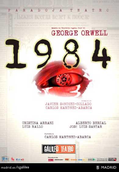 El mundo de Orwell en el escenario madrileño