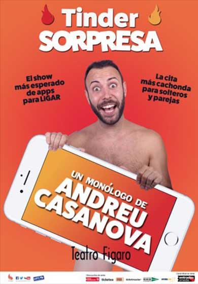 Andreu casanova tinder sorpresa teatro f garo adolfo for Teatro figaro adolfo marsillach