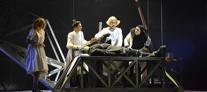 El jovencito Frankenstein. El Musical