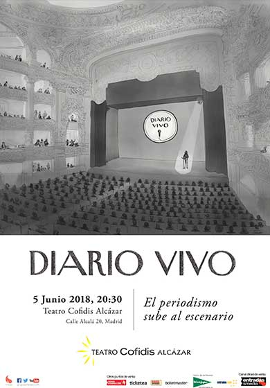 Diario vivo: historias reales contadas por periodistas