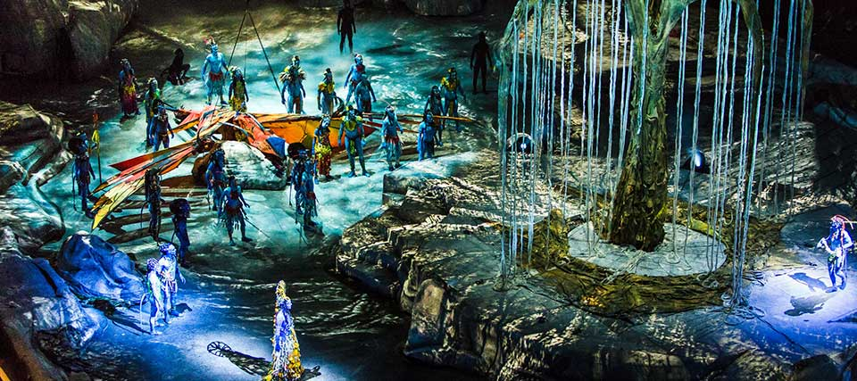 Cirque du Soleil: Toruk – El primer vuelo – Avatar