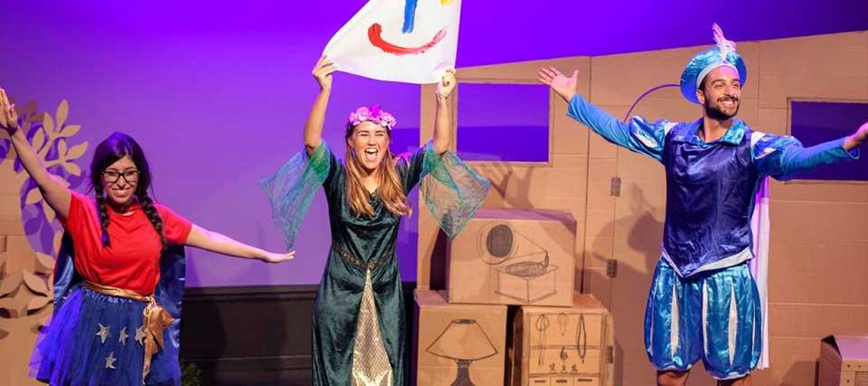 El familiar 'Princesa 2.0' a 8€, en los Teatros Luchana