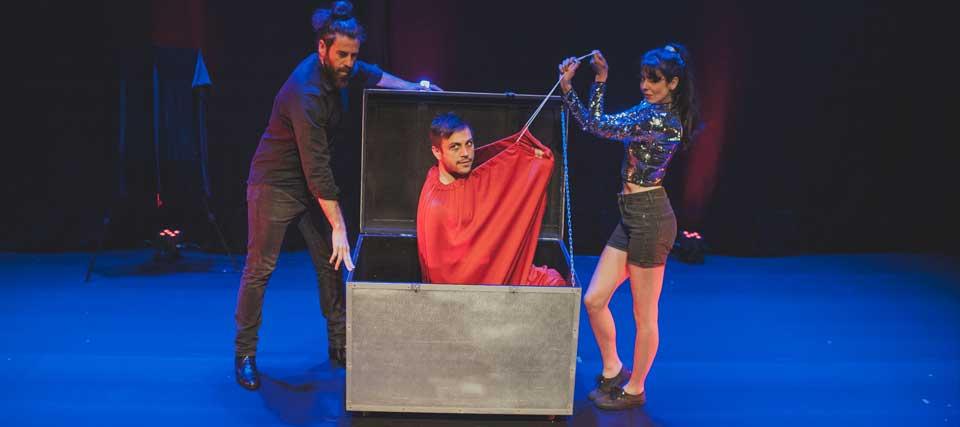 Descuentos para 'Atrapado por la magia' de Xacobe en los Teatros Luchana
