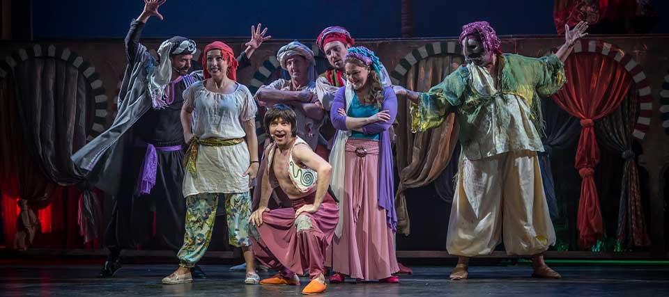Aladino y la lámpara, el musical