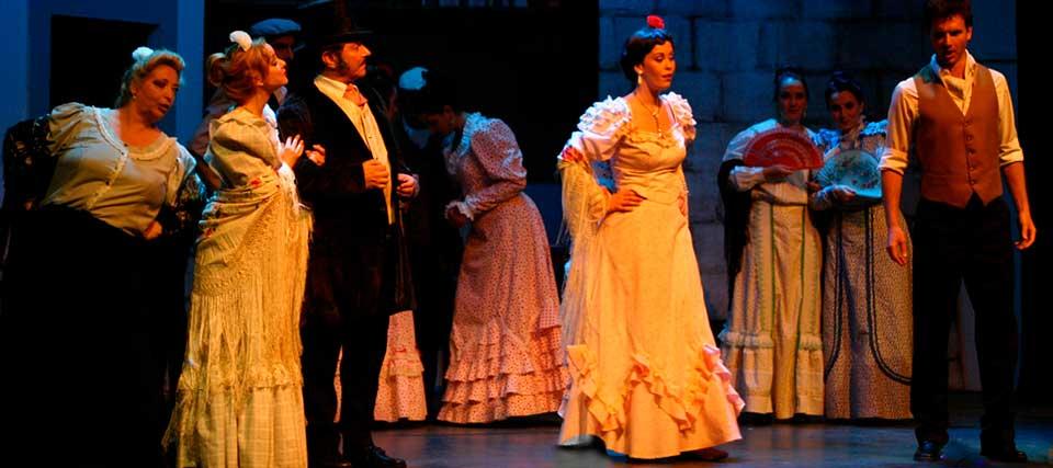 Zarzuela Spanish Operette | La Corrala del Reina Victoria