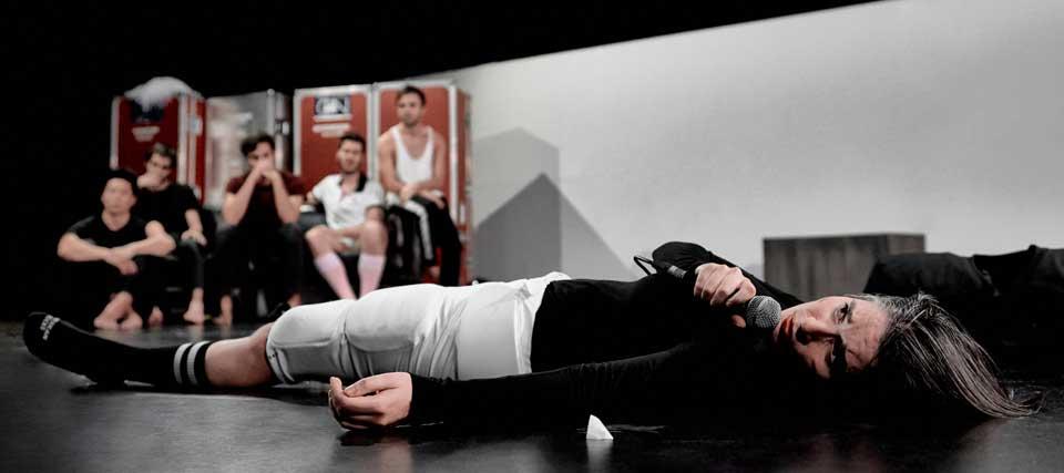 Teatro En Vilo: Man Up