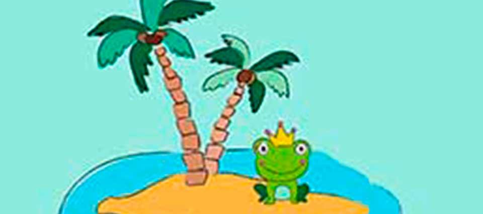 TEATRO PARA BEBÉS: Una rana en el mar