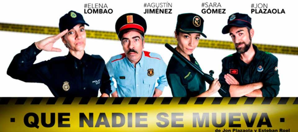Entradas a 20 euros para ver 'Que nadie se mueva' en los Teatros Luchana