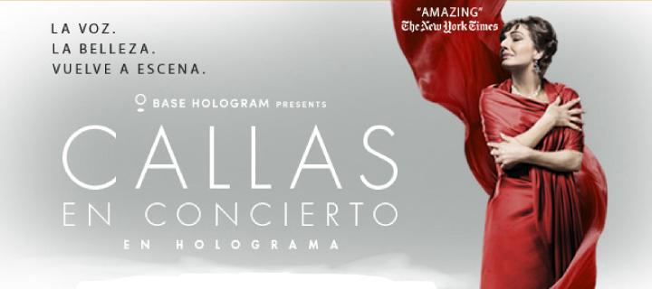 -20% de descuento para 'Callas en concierto' en el Gran Teatro Caixabank Príncipe Pío