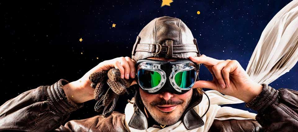 -30% de descuento para 'Antoine, la increíble historia del creador de El Principito' en el Teatro EDP Gran Vía
