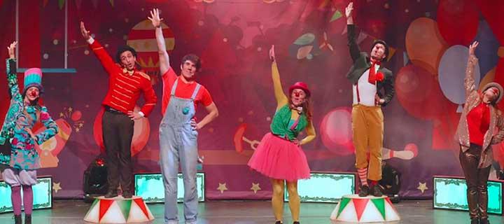 Cantajuego: El circo el payaso Tallarín