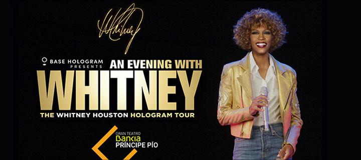 -20% de descuento para 'Whitney Houston Hologram Tour' en el Gran Teatro Bankia Príncipe Pío