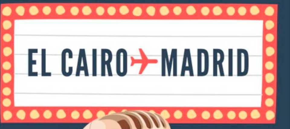 El Cairo-Madrid