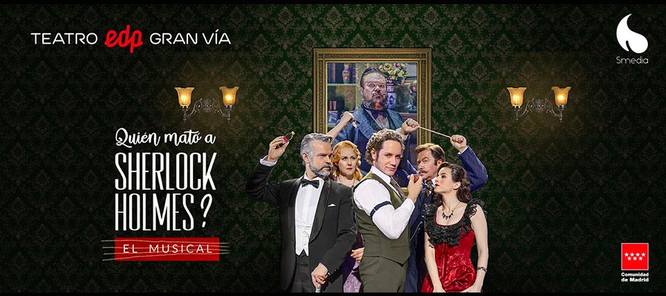 ¿Quién mató a Sherlock Holmes?, el musical