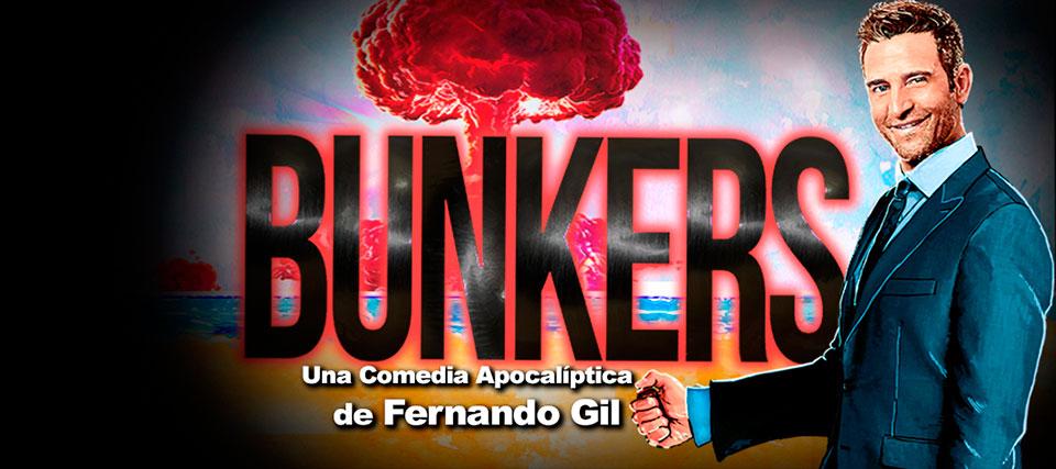 -35% de descuento para 'Bunkers' de Fernando Gil en el Teatro Marquina