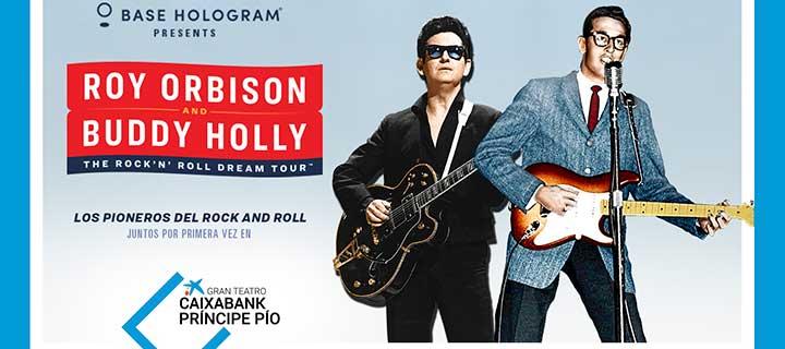 -20% de descuento para 'Roy Orbison & Buddy Holly: The Rock 'n' Roll Dream Tour' en el Gran Teatro Caixabank Príncipe Pío