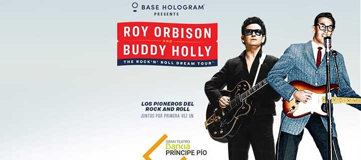 -20% de descuento para 'Roy Orbison & Buddy Holly: The Rock 'n' Roll Dream Tour' en el Gran Teatro Bankia Príncipe Pío