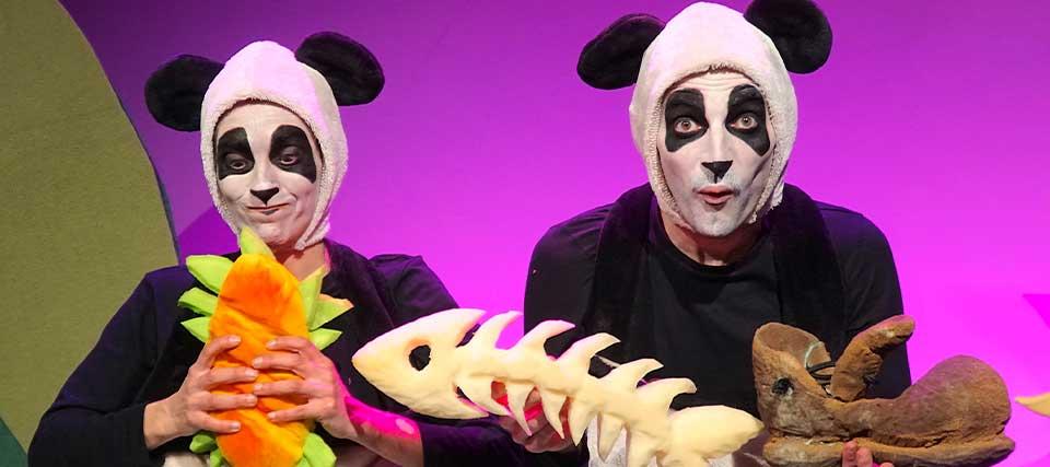 Entradas a partir de 9 euros para 'Travesura panda' en los Teatros Luchana